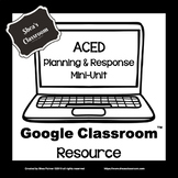 Distance Learning ACED Planning & Response Mini-Unit