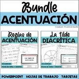 SPANISH ACCENTS/ACENTO DIACRITICO/TILDE DIACRITICA/REGLAS