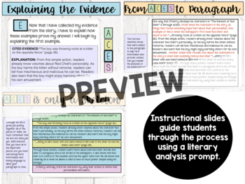 Answer Cite Explain Summarize-Posters, Instructional Slides, Handouts