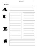 ACES Graphic Organizer