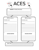ACES Text Dependent Graphic Organizer