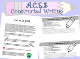 ACES Writing Constructed Response
