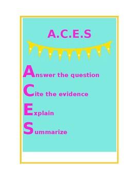 ACES poster