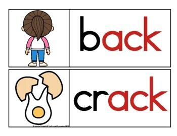 ACK Family Word Wall Cards