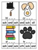 ACK Word Family Clip Cards