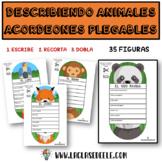 ACORDEONES DE ANIMALES: CARACTERÍSTICAS Y DESCRIPCIÓN DE ANIMALES