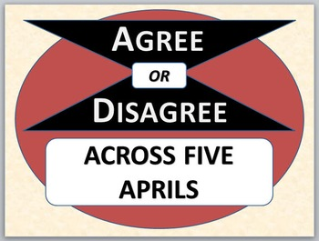 ACROSS FIVE APRILS - Agree or Disagree Pre-reading Activity