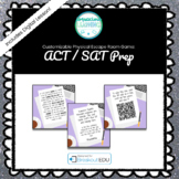ACT / SAT Prep Customizable Escape Room / Breakout Game