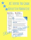 ACT Aspire 3rd Grade Reflective Narrative Rock Star Writer's Checklist