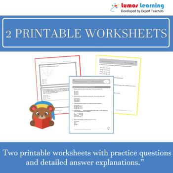 ACT Aspire Practice Test, Worksheets & Remedial Resources -Grade 3 ELA Test Prep