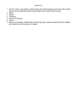 Grade 6-8 ACT Aspire Science: Question Set 3