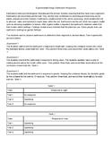 Grade 6-8 ACT Aspire Science: Question Set 5