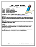 ACT Aspire Teacher Prep Guide for Writing 3rd-6th Grade
