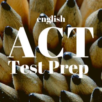 ACT Boot Camp: English