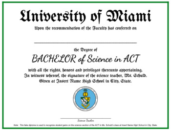 ACT Degrees