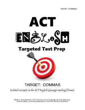 ACT English Comma Practice