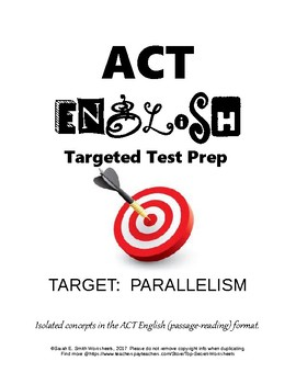 ACT English Parallelism Practice