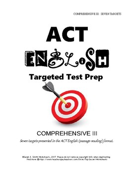 ACT English Prep Comprehensive III