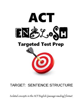 ACT English Sentence Structure Practice
