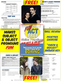 Fun ACT English Prep: Subject & Object Pronouns Skill-by-Skill Practice
