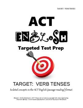 ACT English Verb Tense Consistency Practice
