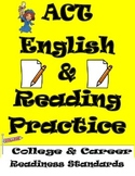 ACT English and Reading Practice Worksheets