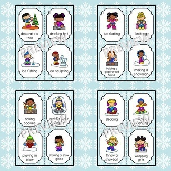 ACT IT OUT! Winter Action Verbs