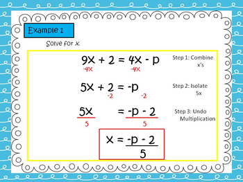 ACT Math Prep: Solving for a Determined Variable