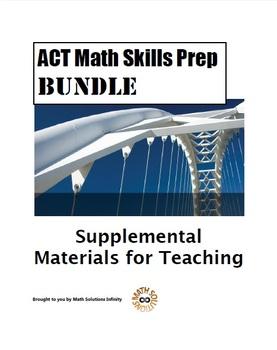 ACT Math Quick Prep SKILLS BUNDLE!