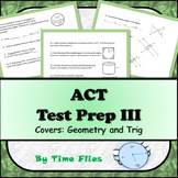 ACT - Math Test Prep 3 - Geometry and Trig