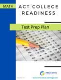 ACT Math Test Prep Plan