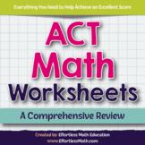 ACT Math Worksheets