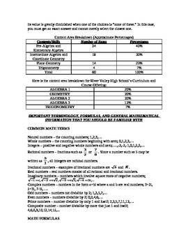 ACT Mathematics Test Preparation Guide