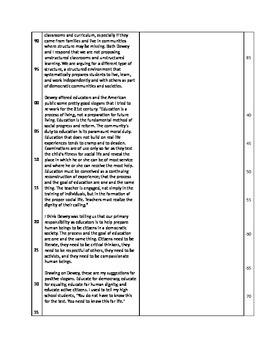 ACT Passage reading quiz w/Qs