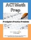 ACT Pre-Algebra Practice Problems