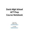 ACT Prep Class Notes