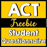 ACT Prep  Diagnostic Questionnaire for students