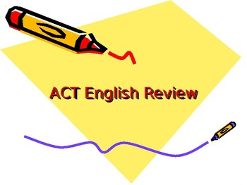 ACT Prep English Course
