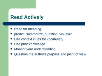ACT Prep Reading Course