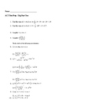 ACT Prep Trigonometry Packet #2