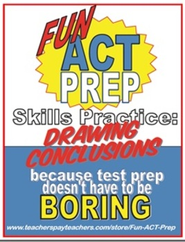 Fun ACT Reading Prep: Drawing Conclusions Skill-by-Skill Practice