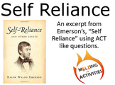 ACT Reading Practice with Emerson's Self Reliance