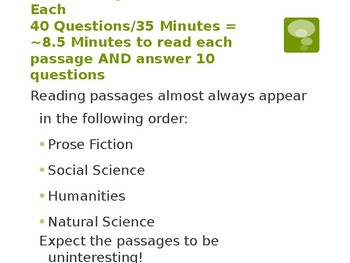 ACT Reading Preparation