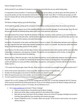 ACT Reading Test Strategy for Great Student Success (Updated for 2015 Test)
