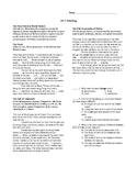 ACT Readings, World History
