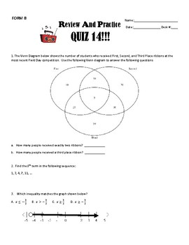 ACT Review and Practice #14