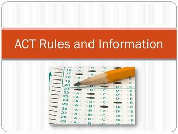 ACT Rules and Information