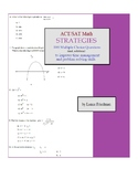 ACT / SAT Math Strategies