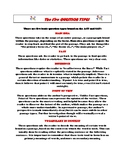 ACT & SAT Packet - Reading Strategies