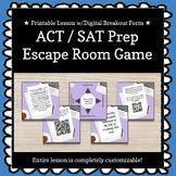 ACT / SAT Prep Customizable Escape Room / Breakout Game